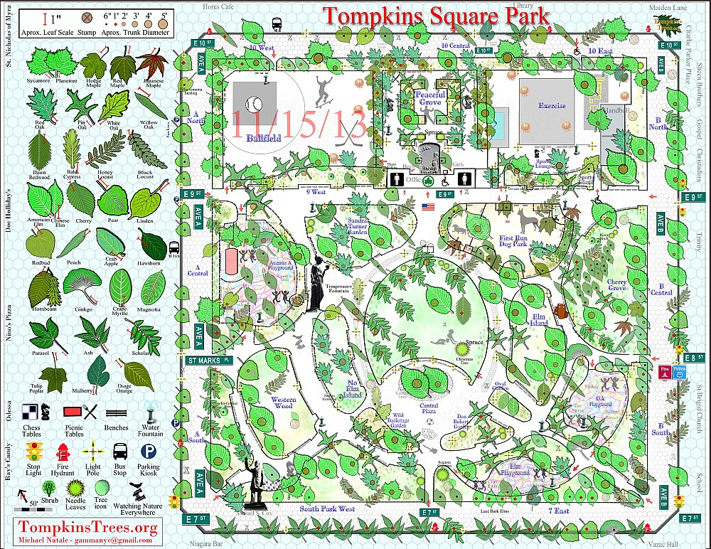 Tompkins Trees Map 11 15 13