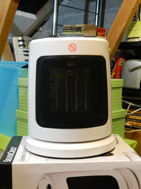 LIDL ceramic fan heater €20