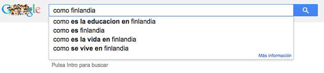 Como Finlandia...