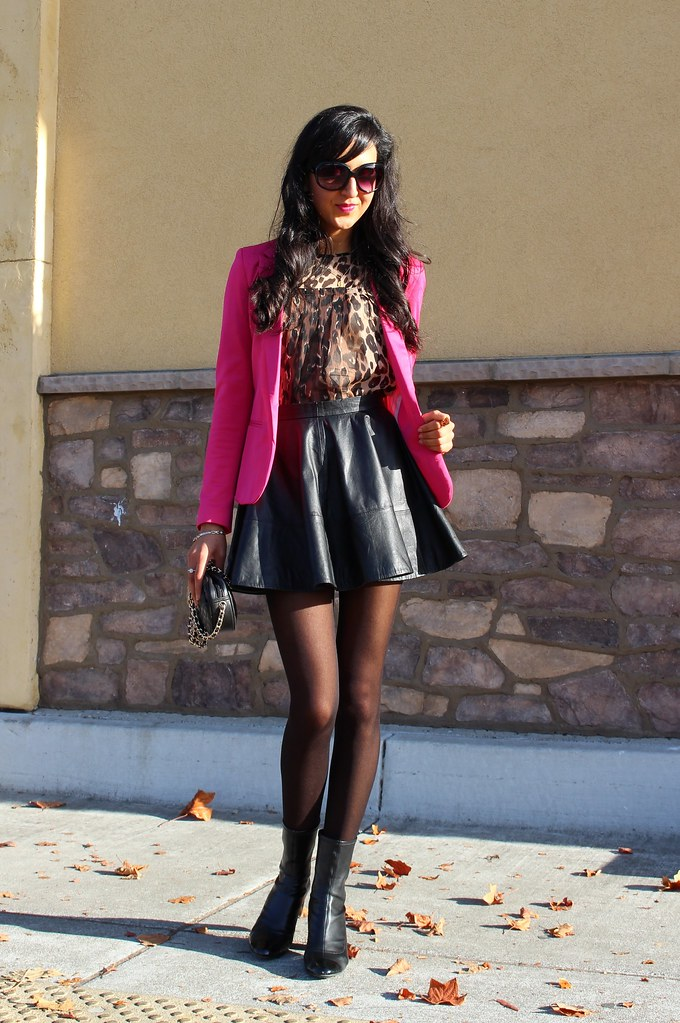 PInk Blazer and Leopard Print 1