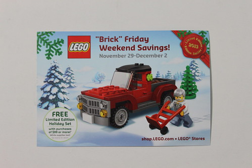 LEGO Brick Friday Promo