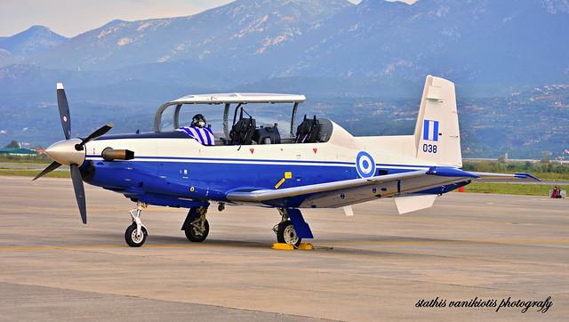 Raytheon (Pilatus) T-6 Texan II (038), Hellenic Air Force