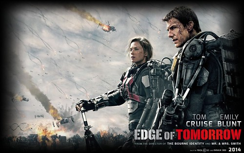 131212(2) - 輕小說《All You Need Is Kill》改編好萊塢電影《明日邊界 Edge of Tomorrow》預告片問世、台灣2014/5/30上映!
