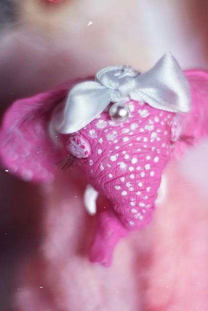 Fairy pink elephant