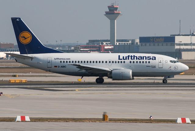 Lufthansa Boeing 737-530 D-ABIC Krefeld (80121)