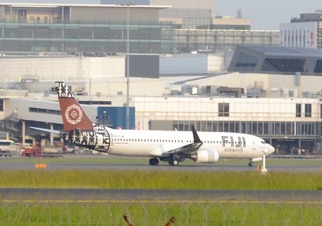 FijiAirways early departure