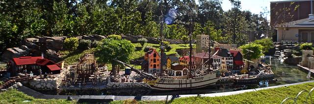 Legoland, Florida - Miniland - Pirate Island
