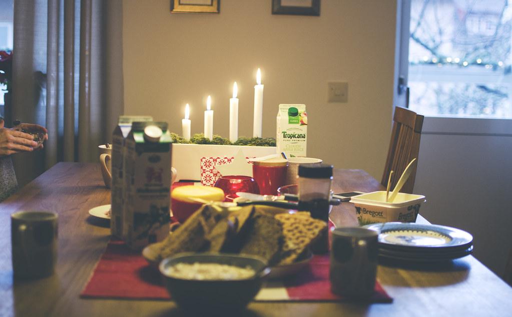 Julafton och juldagen
