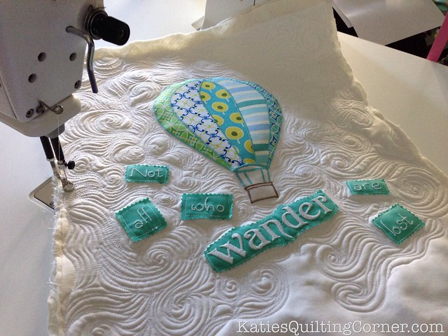 """Wander"" Hot Air Balloon Quilt"