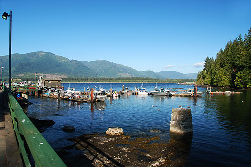 Port Renfrew on Port San Juan, South Vancouver Island, British Columbia, Canada