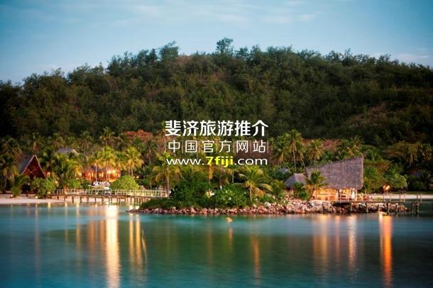 黄昏下的Masima小岛