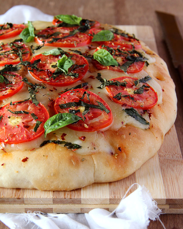 Focaccia Caprese – We Knead to Bake # 13