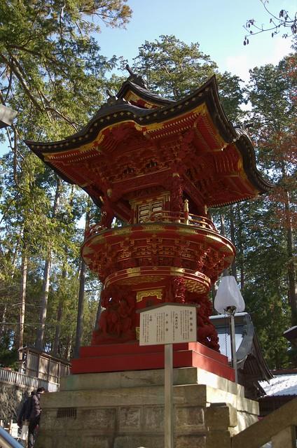 三峯神社 灯籠