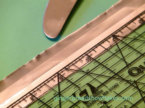 folding tooling foil process