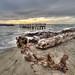 Tramonto sul mare di Ostia by Andrea Silente