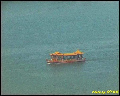 杭州 西湖 (其他景點) - 339 (從西湖十景之 雷峰塔上看 西湖的遊覽船)