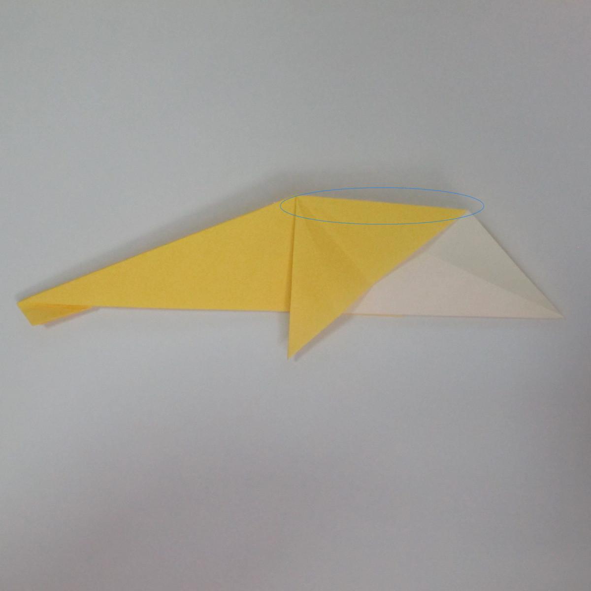 สอนวิธีพับกระดาษเป็นรูปลูกสุนัขยืนสองขา แบบของพอล ฟราสโก้ (Down Boy Dog Origami) 044