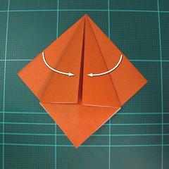 การพับกระดาษเป็นที่คั่นหนังสือหมีแว่น (Spectacled Bear Origami)  โดย Diego Quevedo 006