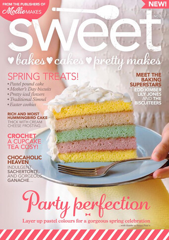 Sweet Magazine, March 2013