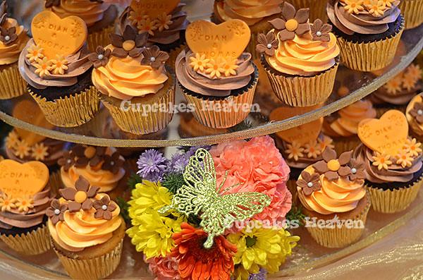 cupcake untuk wedding (di tiers) - Jakarta, Indonesia