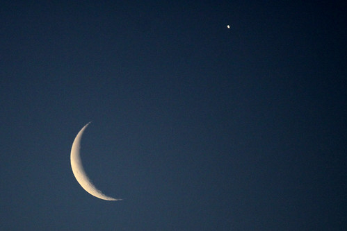 Old Moon and Morning Star