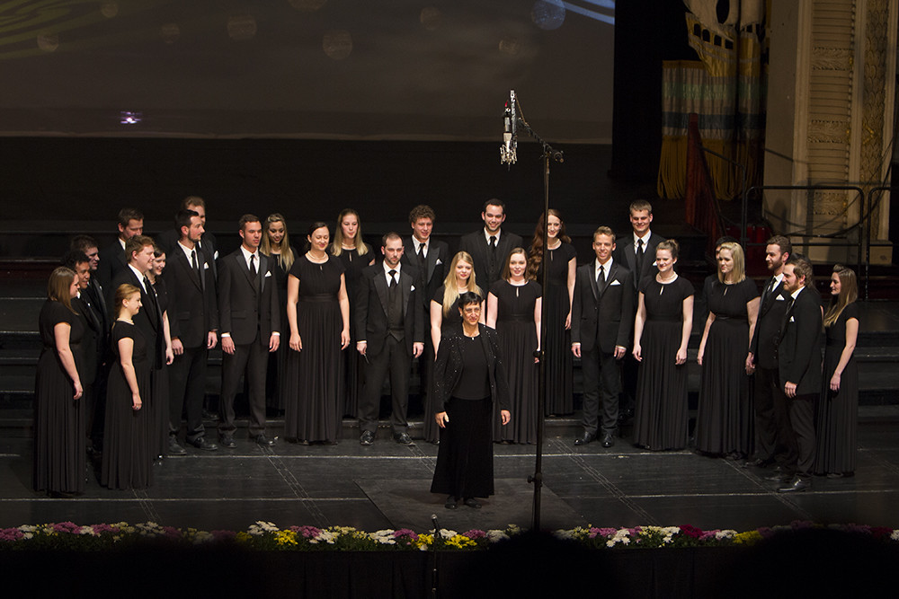 University of Oregon Chamber Choir at the 2013 Cork International Choral Festival