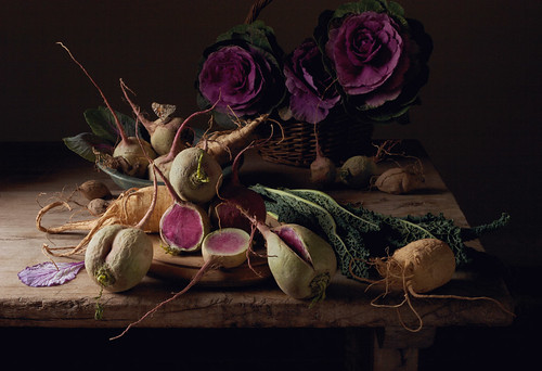 Paulette Tavormina, Watermelon Radishes (from the series Natura Morta), 2009