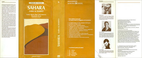 AFRSAH-4K-02 Sahara Guida al Deserto   I Paesi del Mondo Edizioni Futuro Autori:  Bénedictés Vaes,  Gérard del Marmol, Albert d'Otreppe  Sahara 1983. 2217KAf