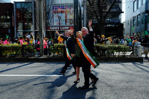 Harajuku St Patricks Day Parade 2014 05