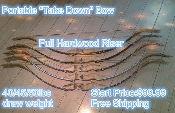 take down bow