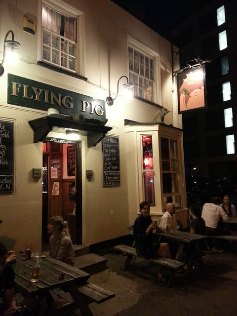 Cambridge Pubs - The Flying Pig