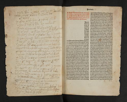 Ownership annotations in  Carcano, Michael de: Sermonarium per quadragesimam de commendatione virtutum et reprobatione vitiorum