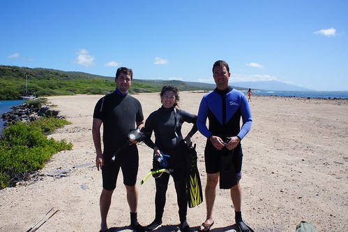 All ready to snorkel!