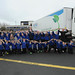 O'Dowd helps St Francis' PS pupils with charity truck pull, 5 April 2014