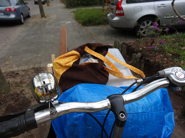 View from the cargo bike