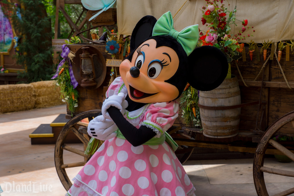 Minnie Mouse at Springtime Roundup at Disneyland