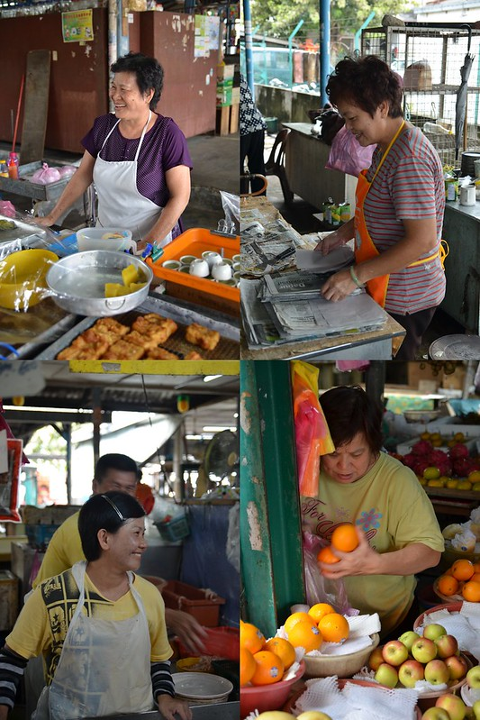 Collage Pasir Puteh Market ladies