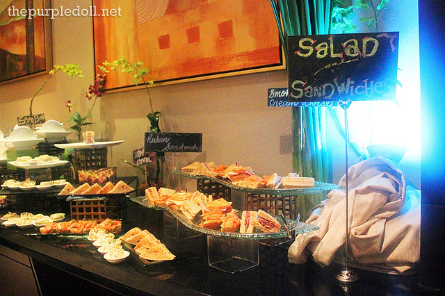 Salad and Sandwiches at Oakroom Saturday Night Fever Buffet