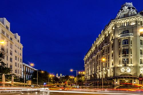 madrid night real clear bluehour neptuno hotelpalace jerónimo losjerónimos madridbynight madridview tufototureto carreradesjerónimo