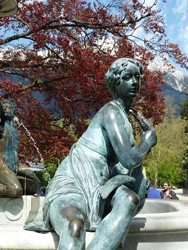 A Statue in Innsbruck