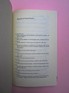 Roland Barthes, Variazioni sulla scrittura. Einaudi 1999. [Responsabilità grafica non indicata]. Biografia dell'autore: pag. 135 (part.), 1