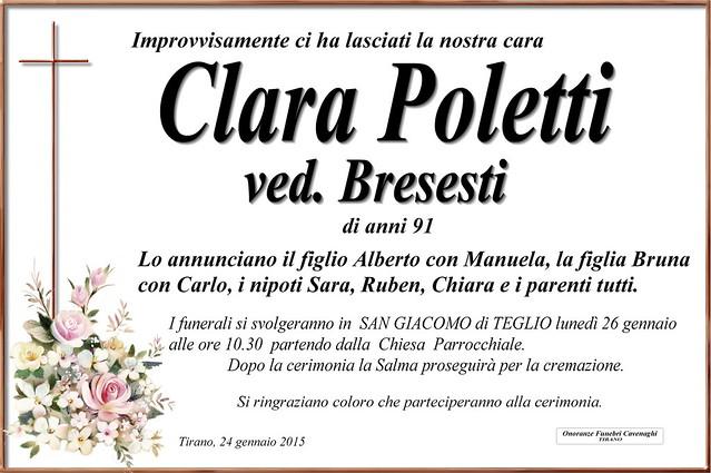 Poletti Clara