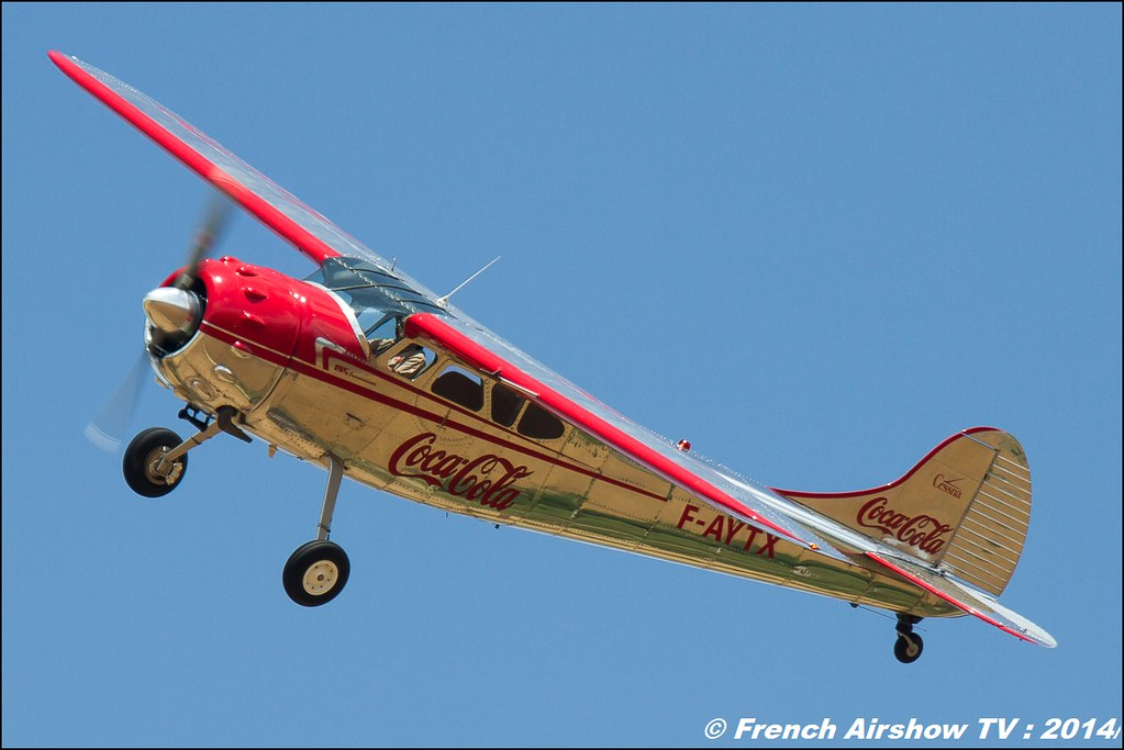 Cessna 195 F-AYTX , Foug'Air Association