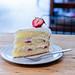 草莓卡士達鮮奶油蛋糕