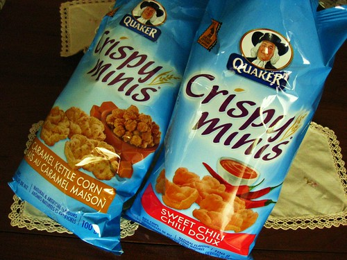 Crispy Minis Rice Crackers // Quaker