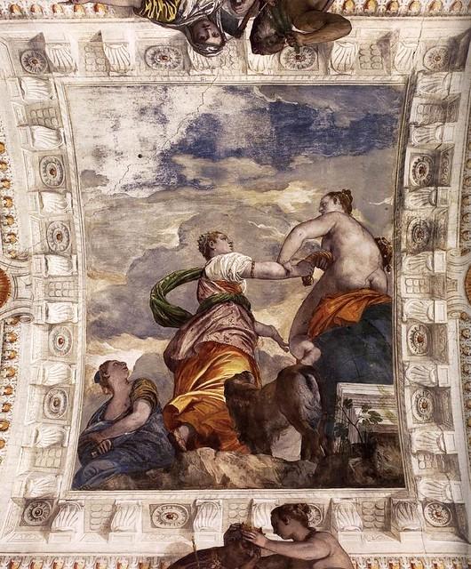 Paolo Veronese, Villa Barbaro, Maser, Glück (Fortune)
