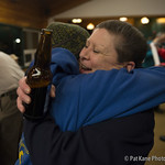 Meet the Mushers event in Whitehorse, sponsored by Yukon Wild.