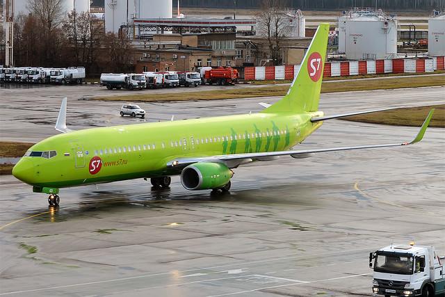 S7 Airlines, VP-BQD, Boeing 737-83N
