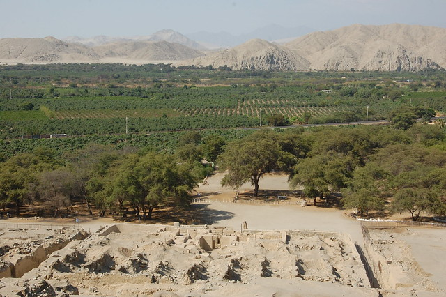 Views from the Ruinas de Sechín, Near Casma