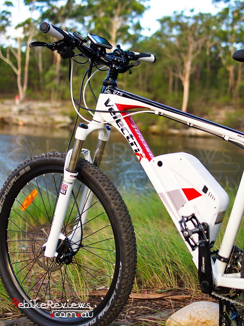 "Velectrix Ascent+ Electric Mountain Bike • <a style=""font-size:0.8em;"" href=""https://www.flickr.com/photos/ebikereviews/16294237100/"" target=""_blank"">View on Flickr</a>"
